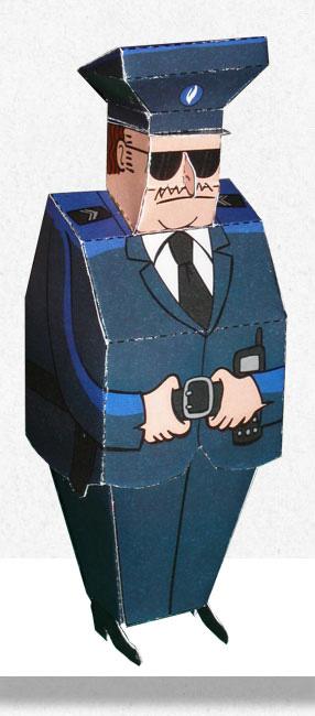 Papertoy Agent Lex